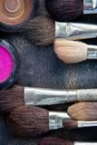 Professional cosmetic brush Royalty Free Stock Photos