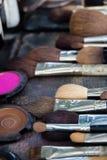 Professional cosmetic brush Stock Photos