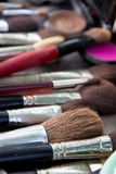 Professional cosmetic brush Royalty Free Stock Photography