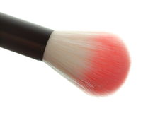 Professional cosmetic makeup brush on white Royalty Free Stock Photography