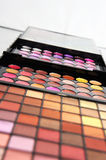 Professional cosmetic palette Royalty Free Stock Photography