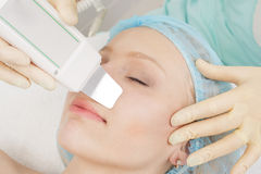 Professional cosmetic skin care Royalty Free Stock Images