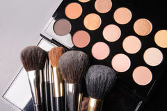 Professional cosmetics for make up Royalty Free Stock Photo