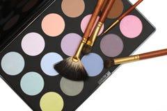Professional cosmetics and make-up set Royalty Free Stock Photo