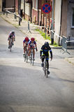 Professional cycling for junior women in Darlowo Royalty Free Stock Photo