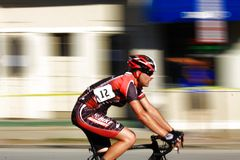 Professional cyclist Stock Images