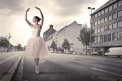 Professional dancer Royalty Free Stock Photography