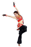 Professional dancer balkan Stock Photos