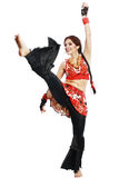 Professional dancer balkan Royalty Free Stock Photo
