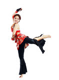 Professional dancer balkan Stock Images