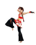 Professional dancer balkan Royalty Free Stock Images