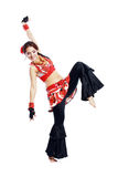 Professional dancer balkan Stock Photo