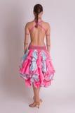 Professional dancer in dress Stock Photos