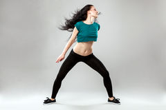 Professional dancer Royalty Free Stock Photos