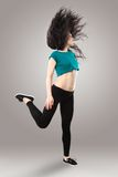 Professional dancer Stock Images