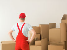 Professional delivery service Royalty Free Stock Image