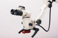 Professional Dental endodontic binocular microscope Stock Photography