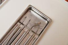 Professional dental tool set Royalty Free Stock Photo