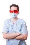 Professional dentist standing confident Stock Photo