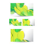 Professional and designer business card Royalty Free Stock Photos