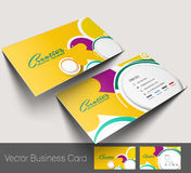 Professional and designer business card Stock Photo