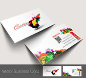 Professional and designer business card Stock Photography
