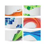 Professional and designer business card set Royalty Free Stock Images