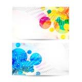 Professional and designer business card set. Illustration of Professional and designer business card set design Stock Photography