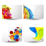 Professional and designer business card set Stock Photography