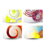 Professional and designer business card set Stock Images