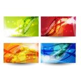 Professional and designer business card set. Illustration of Professional and designer business card set design Stock Images
