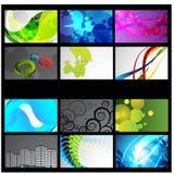 Professional and designer business card set. Illustration of Professional and designer business card set design Stock Photos