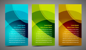 Professional and designer cards Stock Images