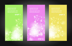 Professional and designer cards Royalty Free Stock Images