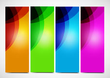 Professional and designer color cards Royalty Free Stock Photos