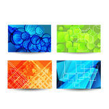 Professional designers business card set Stock Image