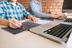 Free Professional Developer Programmer Cooperation Meeting And Brainstorming And Programming In Website Working A Software Outsourcing Stock Images - 143178674