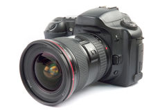 Professional digital camera stock photo