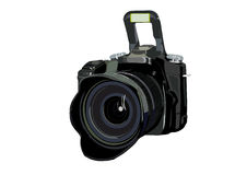 Professional digital camera Stock Photography