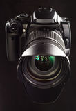 Professional digital camera Stock Image