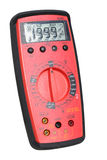 Professional digital multimeter. On isolated background royalty free stock photos