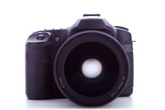 Professional digital photo camera Stock Photo