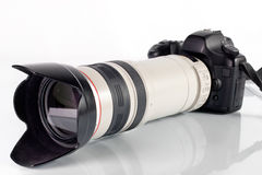 Professional digital photo camera Royalty Free Stock Photography