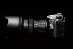 Professional digital photo camera Royalty Free Stock Photo