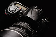 Professional digital photo camera Stock Images