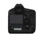 Professional Digital SLR Camera. On white background. 3D render Stock Photography