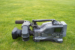 Professional digital video camera Stock Photography