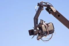 Professional digital video camera. Equipment Stock Image