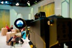 Professional digital video camera. Shoots the TV show stock image