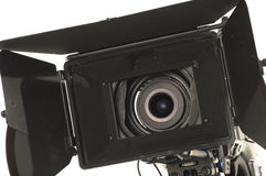Professional digital video camera. Royalty Free Stock Photo